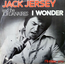 "7"" 1975 NL-PRESS RARE ! JACK JERSEY & THE JORDANAIRES : I Wonder /MINT-?"