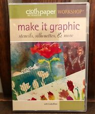 Cloth Paper Scissors Workshop - Make it Graphic (Stencils, Silhouettes...) DVD