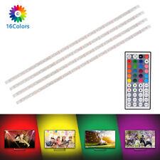 USB Powered RGB LED Stripe Streifen Licht mit Fernbedienung für TV Laptop LD1415