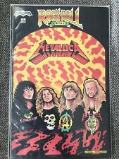 Metallica comic Rock n Roll Comics  Issue #2!