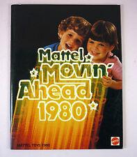 1980 MATTEL TOYS CATALOGS - BARBIE, HOT WHEELS ETC