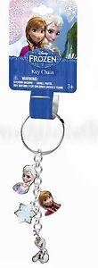 (1ct) Disney Frozen Princess Anna Elsa Olaf Metal Keychain Charms