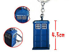 PORTACHIAVI KEYCHAIN KEYRING DR DOCTOR WHO THE TARDIS PHONE BOOTH CABINA TV #5