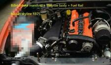 Intake Manifold Billet +Throttle Body SET for Nissan Skyline NEO RB25 DET BLACK