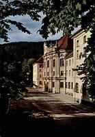 St. Blasien im Schwarzwald Postkarte Kirchen Kolleg color Ansichtskarte ungel.