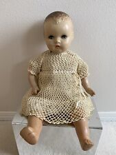 Antique Vintage Horsman Composition Baby Doll Flirty Eyes