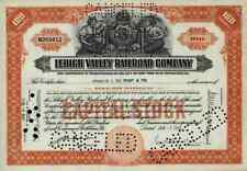 Lehigh Valley Railroad Company 1946 Bethlehem New Jersey Pennsylvania New York