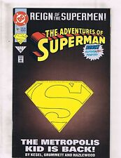 Lot of 5 The Adventures of Superman DC Comic Books #501 502 503 504 505 BH45