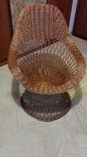 A sedia poltrona vimini anni 50 della nonna perfetta