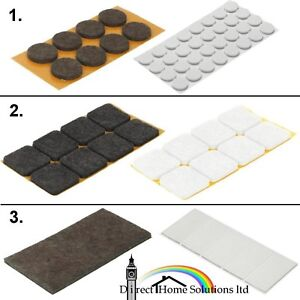 Hafele Furniture Anti-Scratch Felt Glide, Self Adhesive Floor Anti-Slip Felt Pad