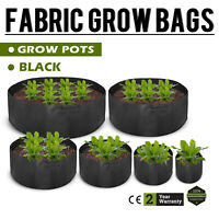 45/65/100/200/300/400 Gallon Plant Pots Grow Bags Non-shacking Aeration Growth