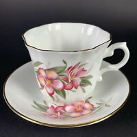 Vintage Consort Fine Bone China Lily Pattern Made in England