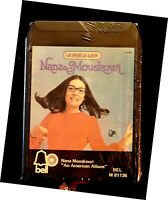 NANA MOUSKOURI, An American Album 8 Track Stereo, M 81136, NEW/Old Stock in wrap