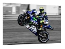 Valentino Rossi 30x20 Canvas - LARGE Moto GP Framed Picture Yamaha M1