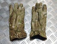 Genuine British Military MTP Multicam Leather Combat Gloves MK2 MVP Grade 1