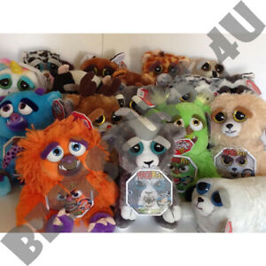 Feisty Pets Soft Plush Stuffed Scary Face Toy Animal Funny Toys Gift Kids