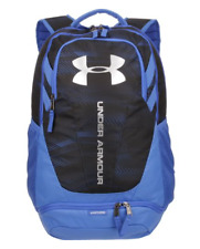 c7091a951a Under Armour UA Hustle 3.0 Blue Water Resistant Backpack Storm 1294720