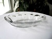 Heisey Colonial Oval Olive Dish Bowl Signed