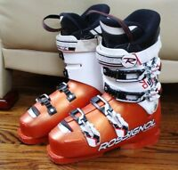 ROSSIGNOL WORLD CUP SI 70 SKI BOOTS SIZE 25.5 MEN SIZE 7.5 WOMEN 8.5