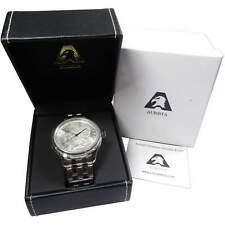 Aurista Morgan Dollar Wristwatch Timepiece Swiss Quartz Movement Stainless Steel