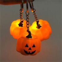 Halloween Lantern Key Chain Creative Plush Soft Key Ring Keychain Pendant Gift