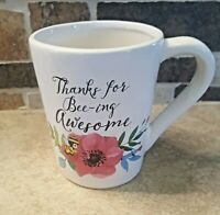 Precious Moments Thanks For Bee-ing Awesome Floral Mug 2016