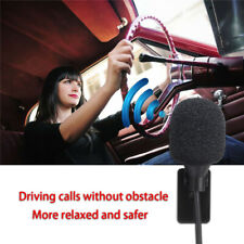3.5mm Bluetooth Car External Stereo Microphone GPS Enabled Audio DVD Hands-free