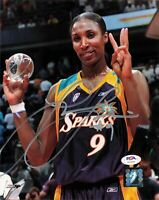 Lisa Leslie Signed 8x10 Photo PSA/DNA Autographed Los Angeles Sparks