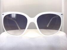 Vintage Maui Jim CAT EYE WHITE FRAME /Grey Gradient Lenses 100% UV PROTECTION