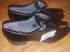Military Vibram gloss oxford dress blue uniform shoes Women's 8R