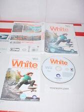 SHAUN WHITE SKATEBOARDING game w/ Manual for Nintendo Wii system