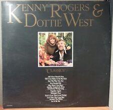 KENNY ROGERS & DOTTIE WEST CLASSICS UA-LA946-H VINYL RECORDS LP
