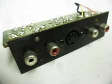 Kenwood KX-830 Input-Output Rear Panel - Vintage Japan Cassette Deck Parts