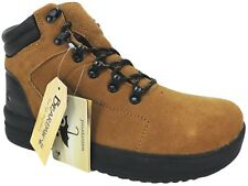 BEARPAW Men's Dominic Waterproof Casual Boots Hickory Suede Size 9 M