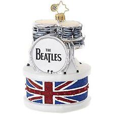 "Radko Ringo's Drum Set 5"" Beatles Ornament 1019042 Nwt"