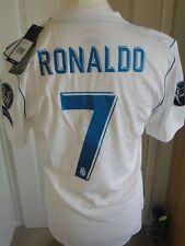 Adult L Real Madrid Home Adi Zero adidas Shirt 2017-18 Ronaldo7 UCL Fifa2017 Rm1