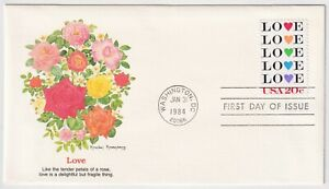 1984 FDC - USA - Love - 20 Cent Stamp