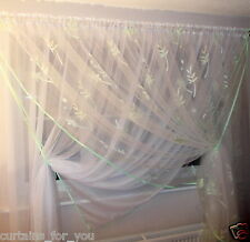 VERY ETHEREAL NET CURTAINS FOR YOU  SOFT FABRIC AMAZING 4 COLOURS