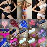 Summer Women Sexy Padded Bra Push-up Bikini Swimsuit Beach Wear Swimwear Fashion