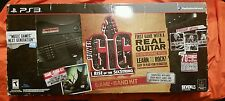 Sony Playstation 3 PS3 Power Gig Rise of the Sixth String Game + Band Kit new ra