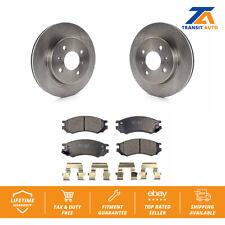 Front Brake Disc Rotors TEC Ceramic Pad Kit Saturn SL2 SL1 SC2 SL SC1 SW2 SW1 SC
