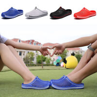 Women's Slippers Hollow Beach Sandals Clogs Holiday Garden Hole Flip-Flop Shoes
