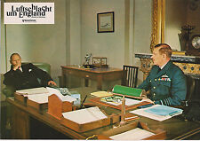 BATTLE OF BRITAIN RARE 1969 GERMAN LOBBY PHOTO LAURENCE OLIVIER HARRY ANDREWS