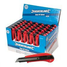 SILVERLINE Abbrechmesser 36 Stück  18 mm  675097 Cuttermesser