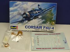 Corsair F4U-4 1/48 scale by Revell with Missing Link Resin,canopy,decals WOW!