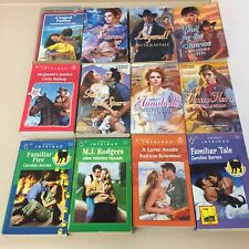 Harlequin Romance Intrigue Historical Lot of 12 Romance Novels Paperback V13