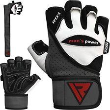 Rdx levantamiento de pesas guantes gimnasio CrossFit entrenamiento Levantamie...