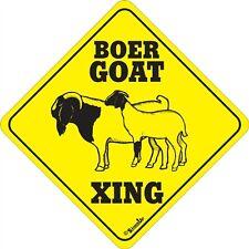Boer Goat Xing Sign