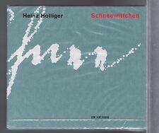 HEINZ HOLLIGER 2 CDS SET NEW SCHNEEWITTCHEN ROBERT WALSER