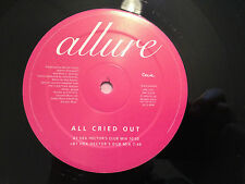 """ALLURE """"All Cried Out"""" (Hex Hector's Mix) 1997 US PROMO 12"""" Vinyl  NMINT+"""